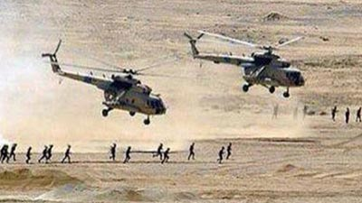 صورة مقتل 100 من داعشي وتحرير مناطق جنوبي الفلوجة بالعراق