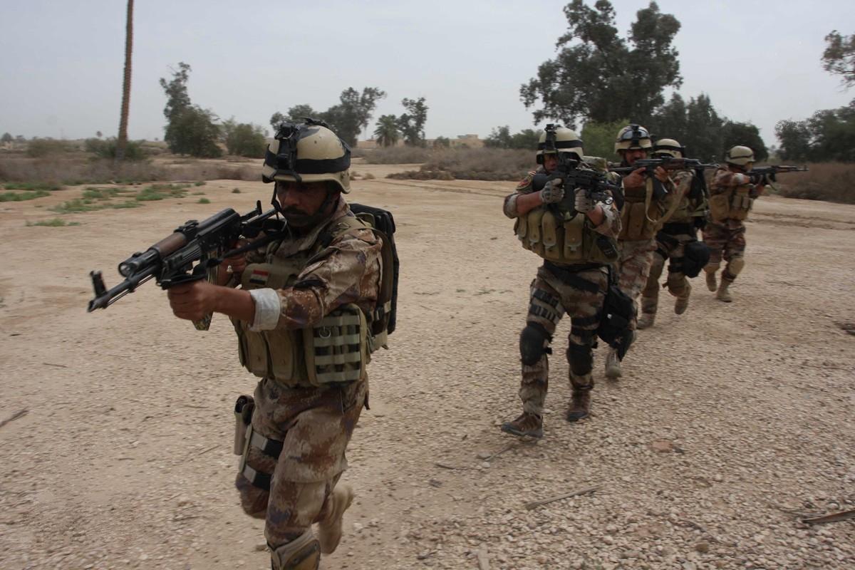 """صورة مقتل واصابة أكثر من 135 مسلحاً من تنظيم """"داعش"""" في اربع محافظات"""