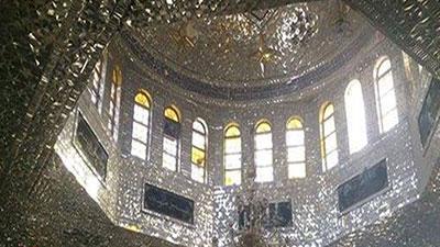 صورة تطهير مقام حجر بن عدي في عدرا البلد