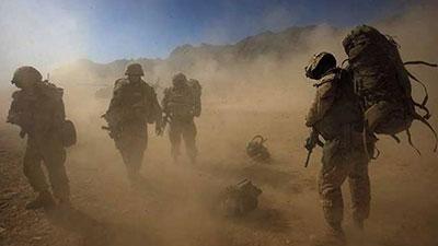 صورة رؤساء جيوش عشرين دولة بمشاركة العراق يبحثون تشكيل قوة برية ضد داعش