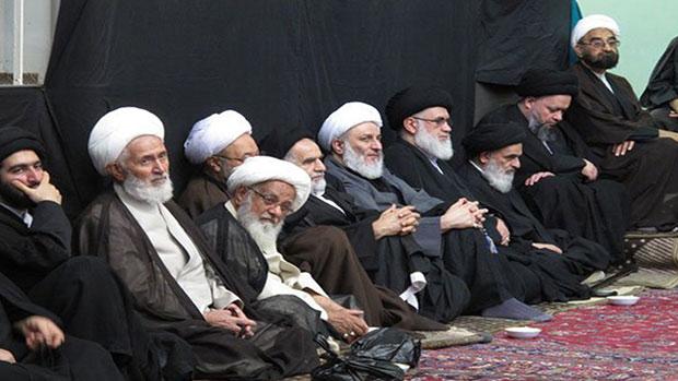 صورة مجالس العزاء الحسيني لليوم الثاني والثالث في بيت سماحة المرجع الشيرازي