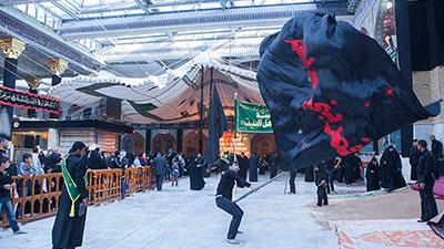 صورة الشعائر الحسينية في ارض الشهادة… اباء وثورة متجددة