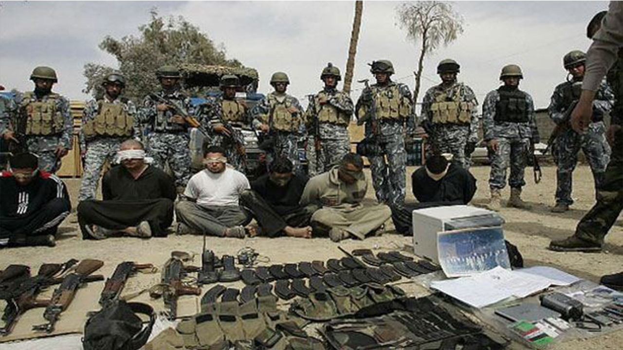 صورة العراق يدخل داعش في محنة