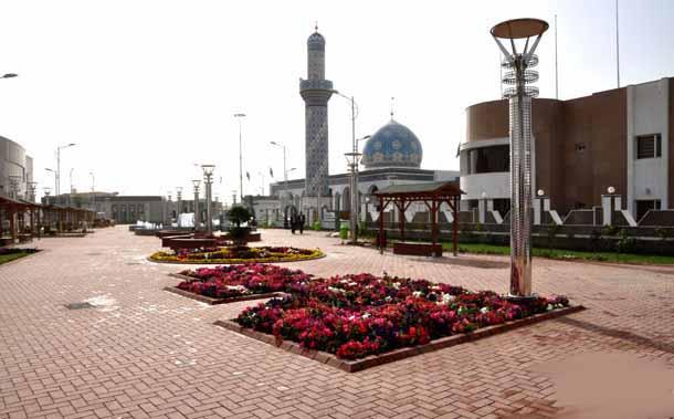 صورة ثلاث مدن ومئات المخيمات لمبيت الزائرين