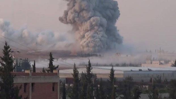 صورة الجيش واللجان الشعبية يصدون هجوما لجبهة النصرة على نبل والزهراء