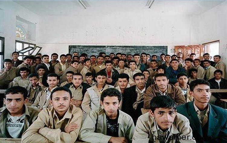 صورة اليونيسيف: 3600 مدرسة مغلقة في اليمن بسبب الأوضاع بالبلاد