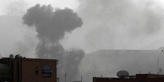 صورة الطيران السعودي يواصل خرقه الهدنة ويشن الغارات على الشعب اليمني