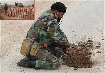 صورة العراق: تحرير20 كم بعمق الطريق الرابط بين تكريت وسامراء