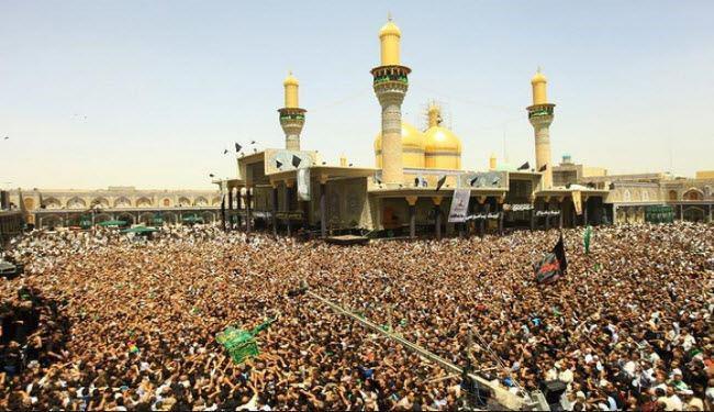صورة تقرير مصور: إحياء ذكرى استشهاد الامام التقي (ع) في العتبة الكاظمية المقدسة ببغداد