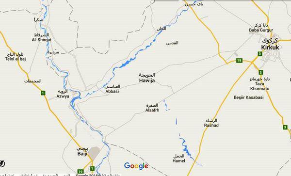 صورة انطلاق عملية تحرير مدينة الحويجة فجر اليوم من عصابات داعش الإجرامية