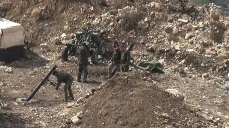 صورة مصدر عسكري سوري: تحرير بلدتين في اللاذقية بالقرب من الحدود مع تركيا