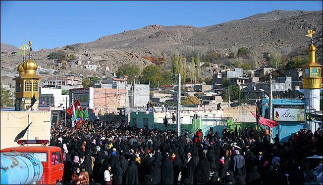 صورة إعتقال 52 شخصاً من مقيمي شعيرة التطبير في ايران