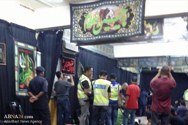 صورة الشرطة الماليزية تهاجم المجالس الحسينية للشيعة في ماليزيا + صور