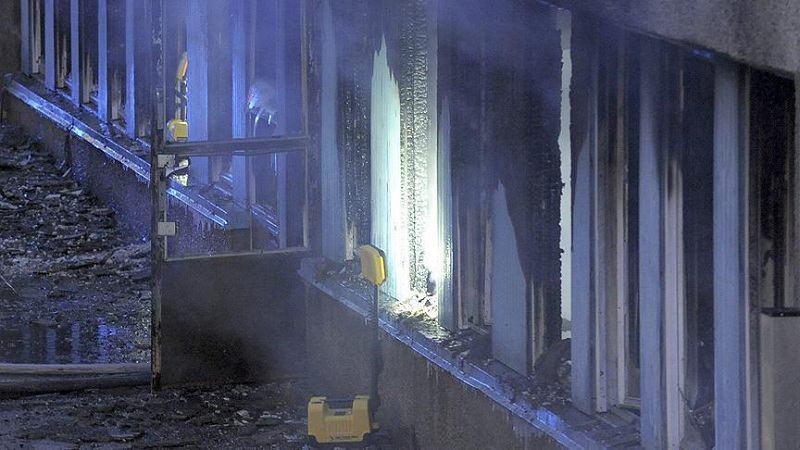 صورة مجهولون يحاولون إحراق مسجد في هولندا