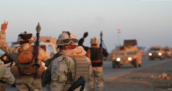 صورة مقتل 11 عنصرا من داعش في منطقتي الربعي والدولاب بالانبار