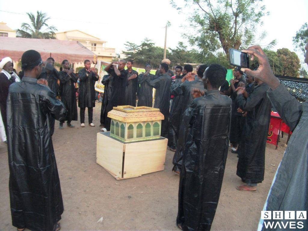 صورة تقرير مصور: المسيرات الحسينية في نيجيريا