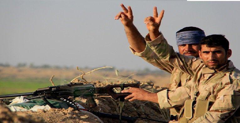 صورة العراق: الحشد الشعبي يصد هجوما لداعش على قرية البشير ويقتل 37 ارهابيا