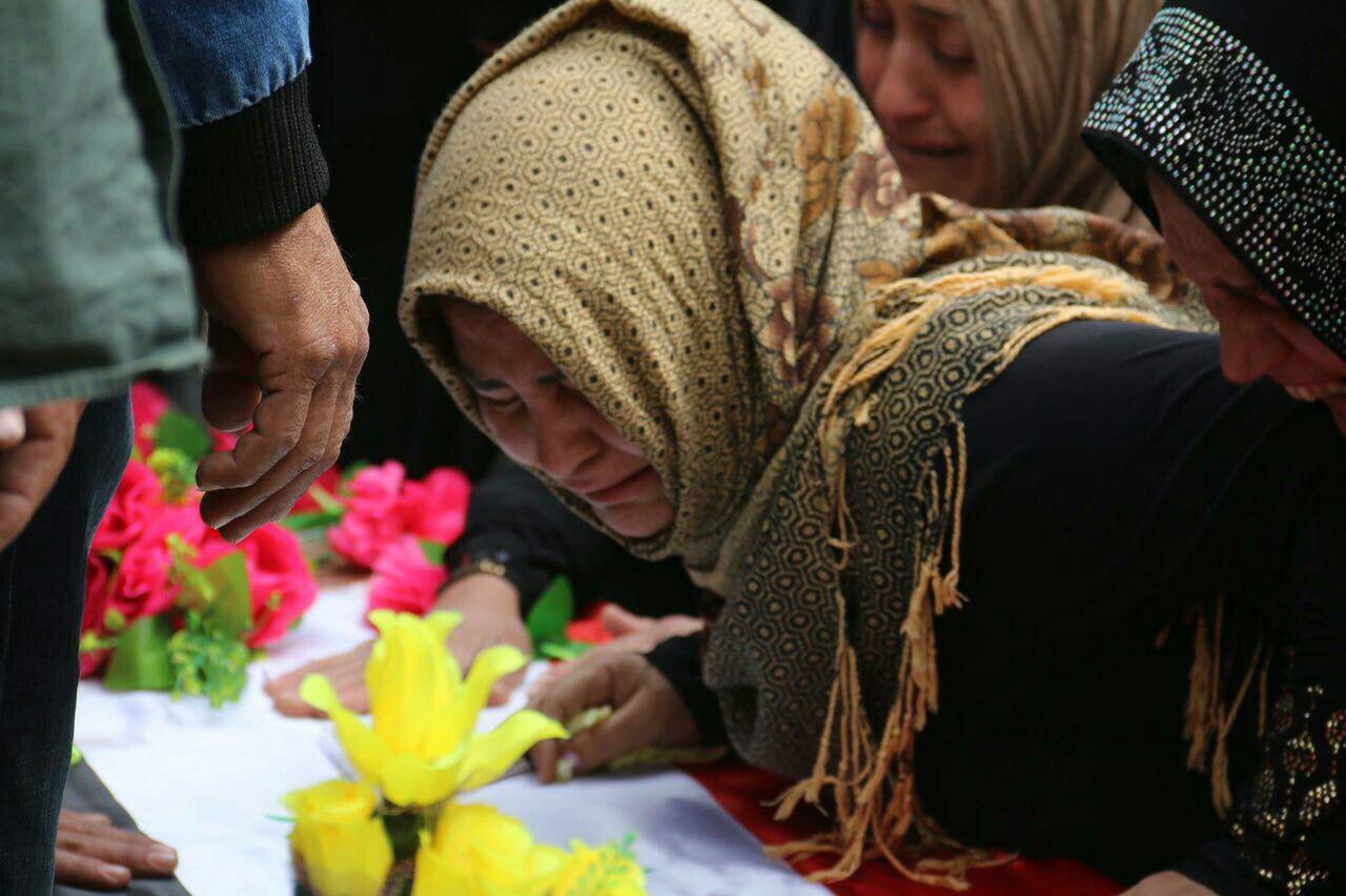 صورة العراق: اول حالة وفاة لطفلة من سكان تازة بسبب القصف الكيمياوي