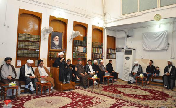 Photo of مكتب سماحة المرجع الشيرازي يحيي ذكرى شهادة السيدة زينب عليها السلام