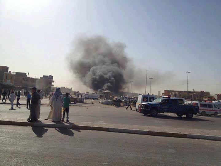 صورة العراق: 12 شهيدا و40 جريحا بانفجار مفخختين في السماوة