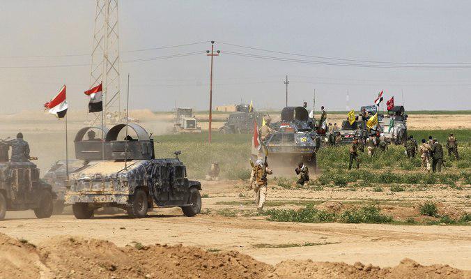 صورة انطلاق عملية كسر الارهاب لتحرير الفلوجة من داعش التكفيري