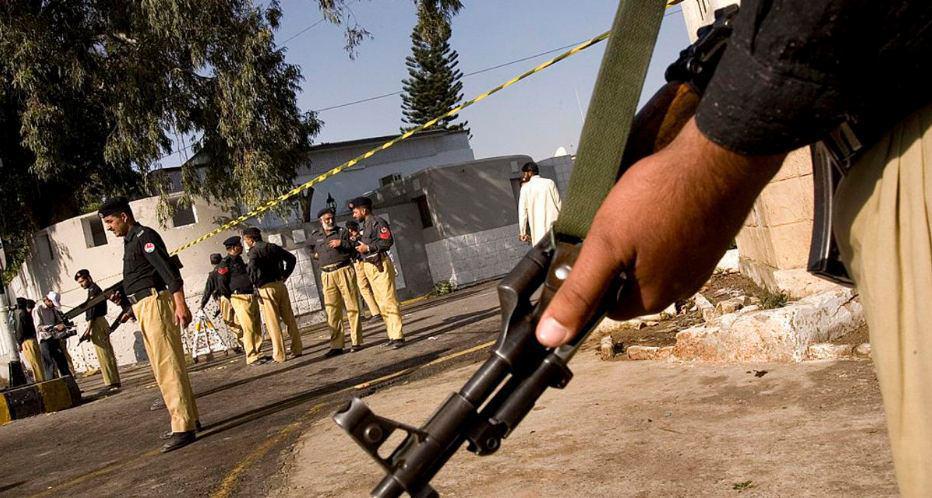 صورة إحباط تنفيذ عملية إرهابية غرب باكستان