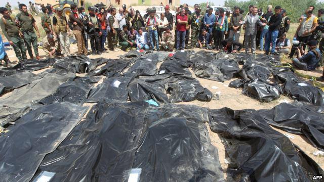 صورة الهولوكوست الشيعي: مقتل المسؤول عن مجزرة سبايكر في تكريت