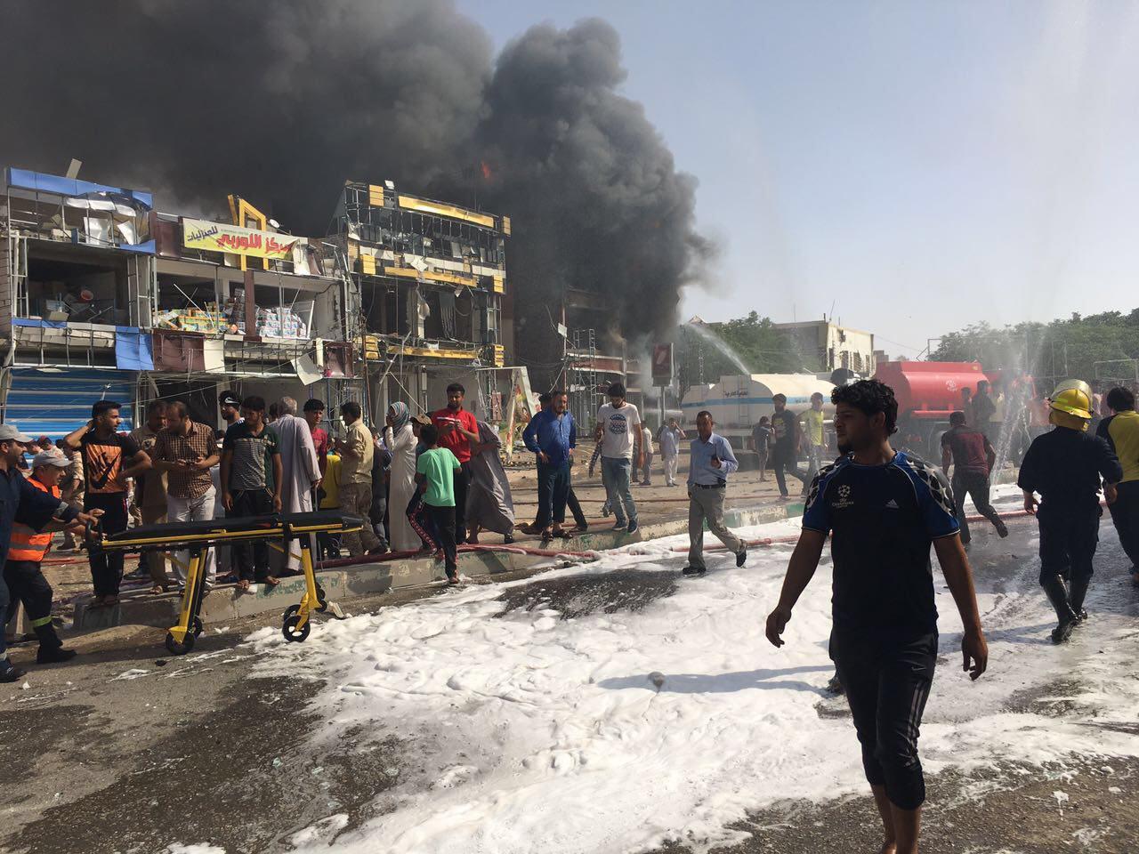 صورة خمسة شهداء و11 جريحاً بانفجار مفخخة في كربلاء المقدسة