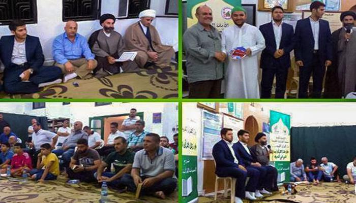صورة العتبة الحسينية المقدسة تقيم محافل قرآنية في جنوب لبنان