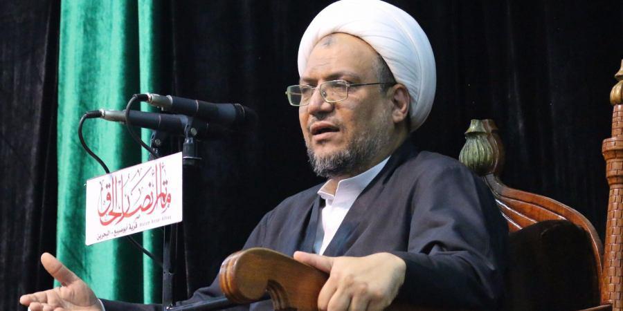صورة اعتقال الشيخ محمد الشهابي وكيل المرجع السيستاني في البحرين