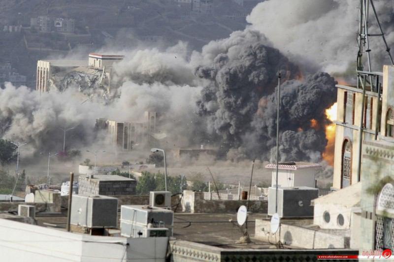 صورة تصعيد سعودي .. مجازر مفجعة في صعدة وعمران