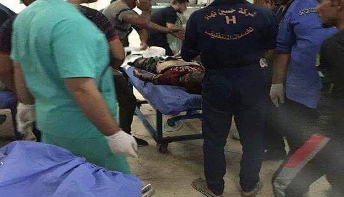 صورة 56 شهيداً وجريحاً حصيلة تفجير مول النخيل المزدوج