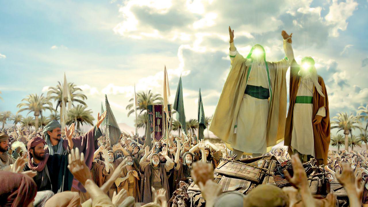 صورة بالفيديو: عيد الغدير الاغر اهم الاعياد  لدى المسلمين الشيعة