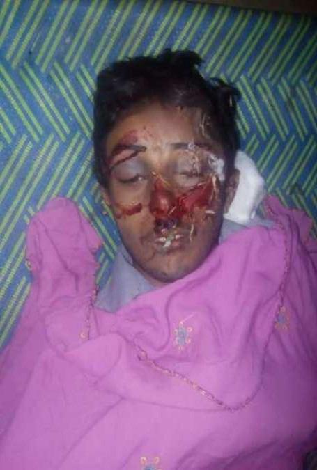 صورة استشهاد ابن رجل دين شيعي في باكستان