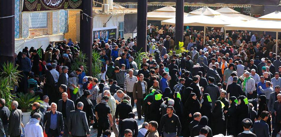 صورة العراق: ازدياد عدد الوافدين من العرب والاجانب الى سامراء بعد انفجار مرآب نقل المسافرين