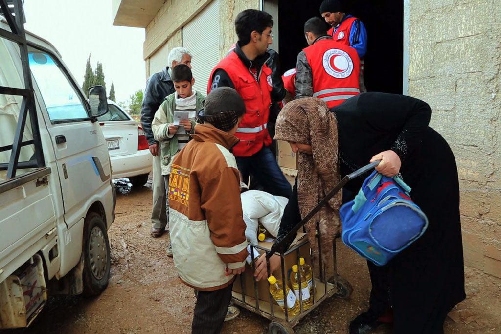 صورة مكتب تنسيق الشؤون الإنسانية: الوضع في حلب لا يزال سيئا ولا يمكن الوصول إلى الرقة منذ وقت طويل