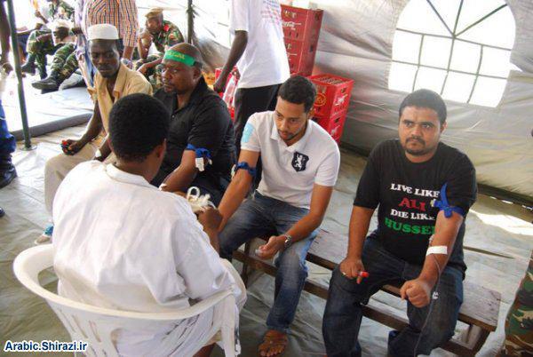 Photo of منظمة من هو الحسين عليه السلام الانسانية تقيم حملة للتبرّع بالدّم في كندا