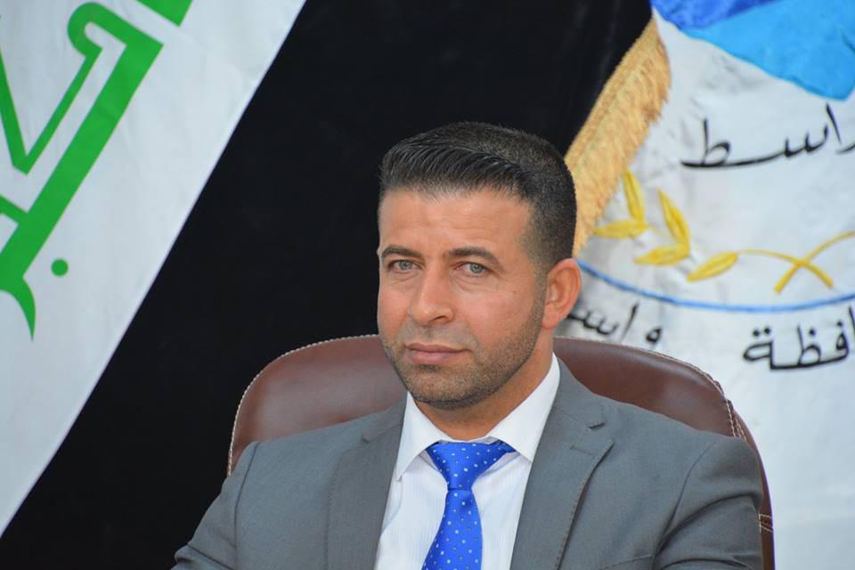 صورة رئيس مجلس واسط: قرب وضع حجر الاساس لانشاء مدينة لزائرين من قبل العتبة الحسينية