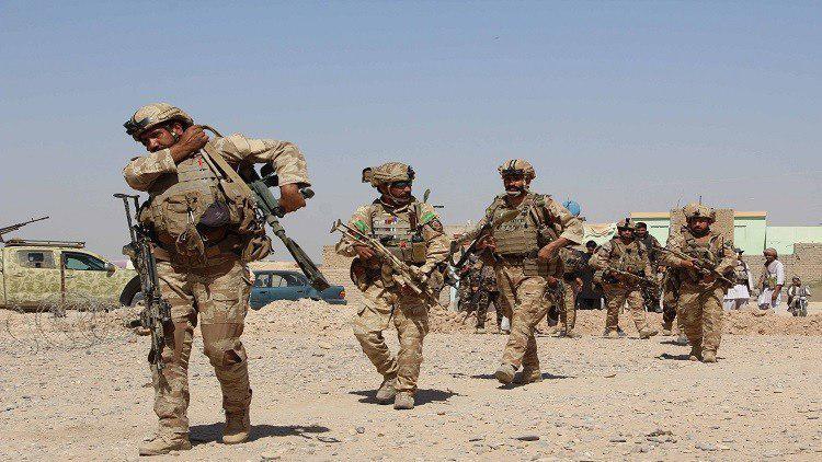 صورة الجيش الأفغاني يشن عملية عسكرية ضد داعش الارهابي شمال البلاد