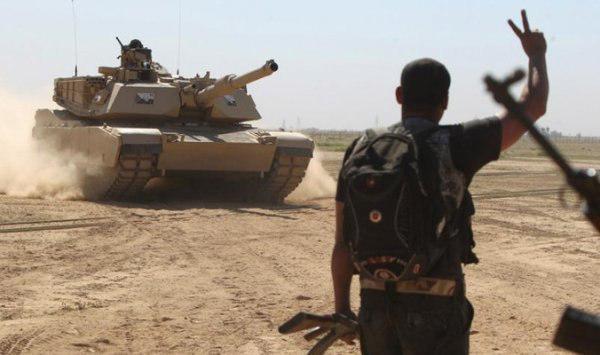 صورة إحباط هجوم كبير لداعش الارهابي على مدينة سامراء