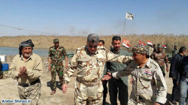 صورة المراكز التابعة للمرجعية الشيرازية تواصل تقديم المساعدات والاعانات لقوّات الحشد الشعبي في الموصل