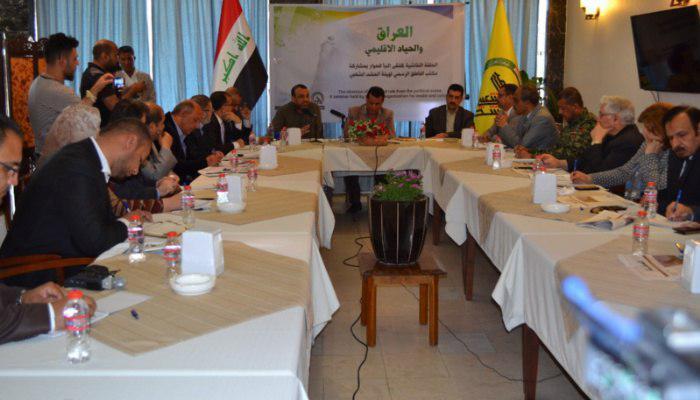 Photo of ملتقى النبأ يعقد حلقة نقاشية بعنوان العراق والحياد الاقليمي بمشاركة المتحدث بأسم الحشد الشعبي