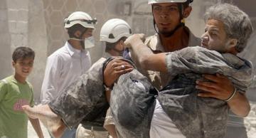 صورة أطباء سويديون: تم قتل الأطفال السوريين عمداً قبل تصويرهم في تمثيلية الكيميائي
