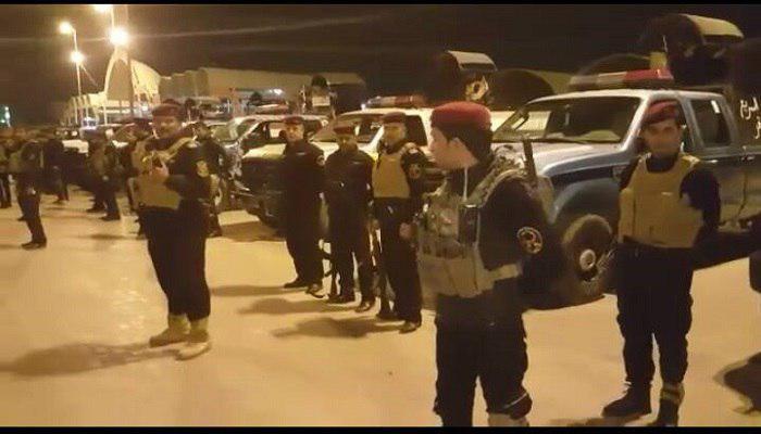 صورة شرطة المثنى ترسل فوج من قوات الطوارئ للمشاركة في الخطة الامنية للزيارة الشعبانية في كربلاء