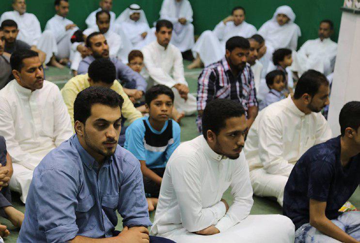 صورة بالصور..شيعة مدينة الربيعية شرق السعودية يحتفلون بمناسبة ولادة علي الأكبر عليه السلام