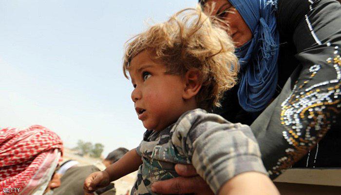 صورة اليونيسيف: 100 ألف طفل معرضون للخطر في الموصل