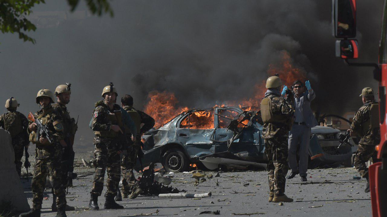 صورة الرئيس الأفغاني يعلن ان انفجار كابل أسفر عن مقتل أكثر من 150 شخصا