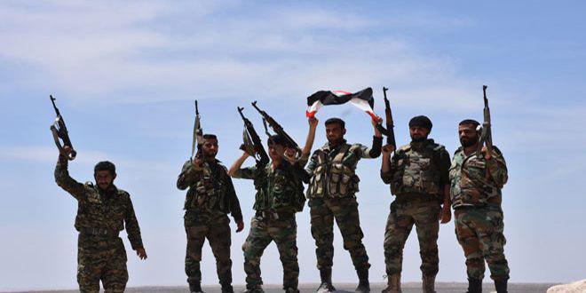 Photo of الجيش السوري يستعيد السيطرة على بلدة جباب حمد بريف حمص الشرقي