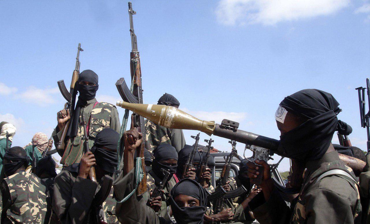 صورة بوكو حرام الارهابية تعدم قرويين نيجيريين بزعم مخالفتهم أحكام الشريعة