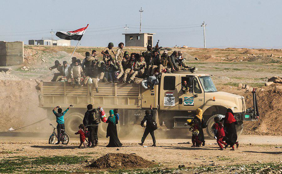 صورة العامري يعلن تحرير مليون رهينة من داعش الارهابي في خلال عمليات الموصل